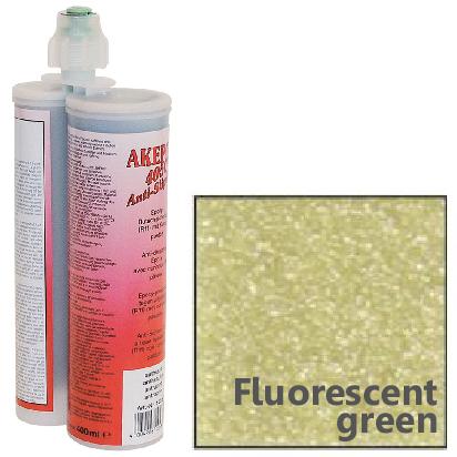 アケミ アンチスリップミックス 蛍光グリーン 400mlAKEMI AKEPOX 4050 Anti-Slip Mix (簡単施工の高耐久滑り止め)