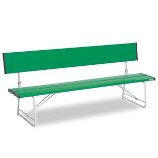 テラモト コマーシャルベンチ1800 折畳 緑色 【大型送料が必要です】【代金引換・後払い決済不可】