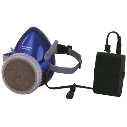 山本光学 小型電動ファン内蔵半面マスク ライフセーバー LS-880 (LS880)
