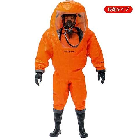 シゲマツ 全身化学防護服 密閉服(限定使用) マイクロケム6000-GTB 1着(L・XL・2XL) 【代金引換・後払い決済不可】