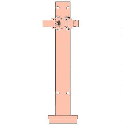 モリタ宮田工業 自動車用消火器ブラケット BKTSKN4VC(鉄道車両用)