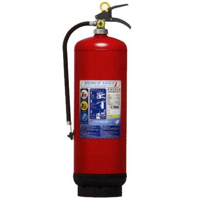 モリタ宮田工業強化液消火器(業務用)ハイパーミストL LF8【リサイクルシール代込】