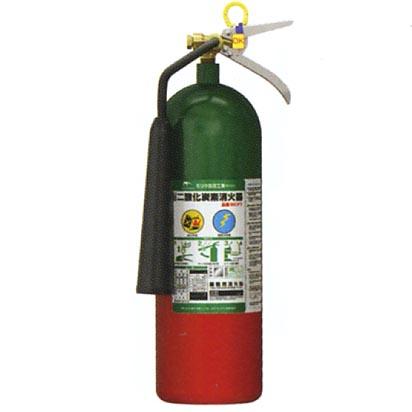 モリタ宮田工業二酸化炭素消火器(業務用)MCF7【リサイクルシール代込】