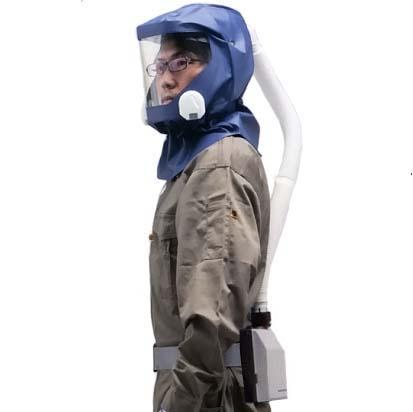 シゲマツ 電動ファン付呼吸用保護具 一定流量型PAPRウインディ W07シリーズ W07D2H1 【代金引換・後払い決済不可】