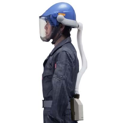 シゲマツ 電動ファン付呼吸用保護具  一定流量型PAPRウインディ  W07シリーズ W07D2S1  【代金引換·後払い決済不可】