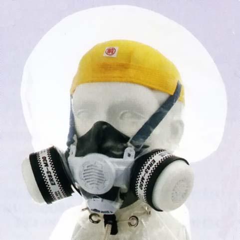 シゲマツ 避難用ろ過式呼吸用保護具 (CFASDM004:2013) 【マルチガス・火山ガス用】 ER83-M30 (#00796) 【代金引換・後払い決済不可】