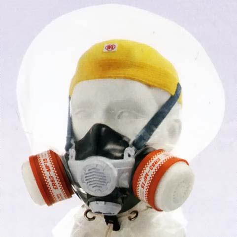 シゲマツ 避難用ろ過式呼吸用保護具 (CFASDM004:2013) 【マルチガス・火山ガス・火災兼用】 ER83-MF15 (#00795) 【代金引換・後払い決済不可】