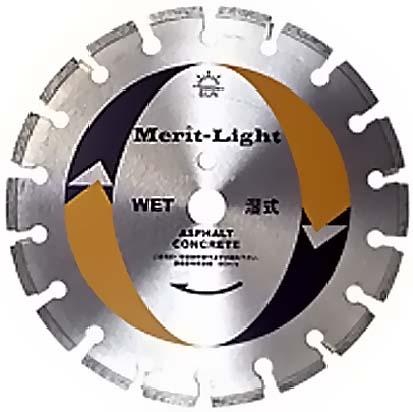 旭ダイヤモンド工業(SUN)コンクリートカッターメリットライト(Merit-Light) 直径355mm(14
