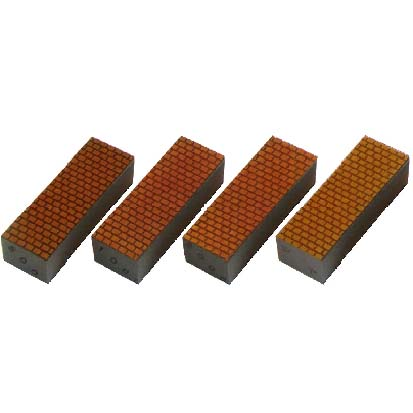 三和研磨工業 手磨き用ダイヤ 大理石用 全4種セット 120mm×40×31mm