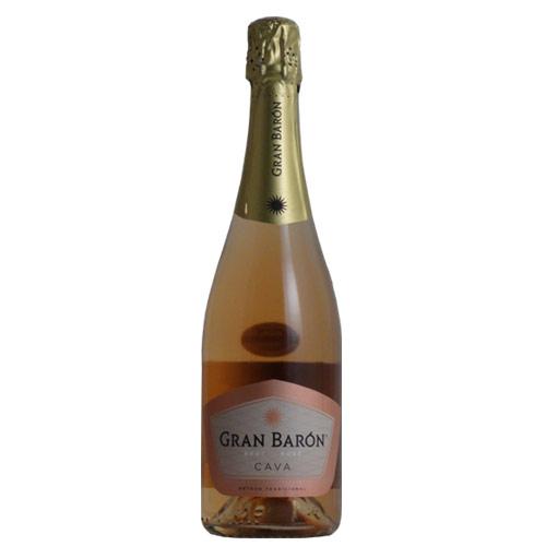 スペインワイン 敬老の日 おすすめ 人気商品 ギフト 750ML グランバロンロゼNV750mlシャンパン製法カヴァスペインワイン高評価生産者wine 期間限定今なら送料無料