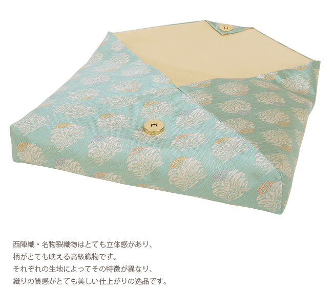 In the free-standing tea ceremony room bag celadon porcelain place of vermilion, mustard, purple refined, pretty cockscomb flower - tea ceremony together
