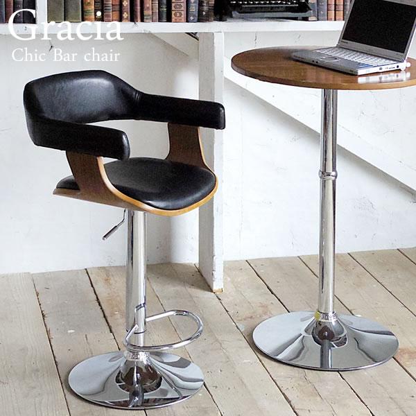 バーチェアー カウンターチェア スラー モダン 昇降 カウンターチェアー チェアー カフェ カウンター チェア いす 椅子 KNC-J1080