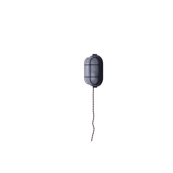 北欧風 ブラケットライト/照明器具 【LHT-729 幅10.5cm】 アルミ ガラス 電球付き 〔壁面 家屋 マンション アパート〕