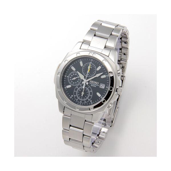 ★今夜20時-4H全品P5倍★SEIKO(セイコー) 腕時計 クロノグラフ SND411 グリーン