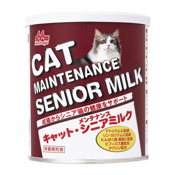 (まとめ)ワンラック キャットメンテナンスシニアミルク 280g (ペット用品・猫フード)【×24セット】