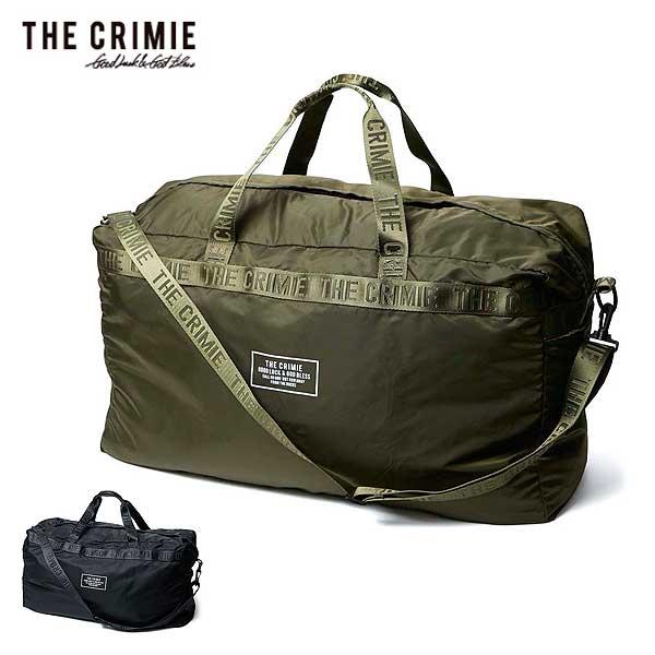 2020 春夏 先行予約 3月~4月入荷予定 クライミー CRIMIE PACKABLE BOSTON BAG レディース メンズ バッグ 送料無料 キャンセル不可