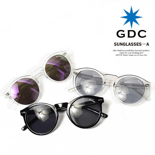ジーディーシー GDC SUNGLASSES-A c36027 レディース メンズ 眼鏡 サングラス カラーレンズ 伊達メガネ アクセサリー おしゃれ かっこいい ストリート gdc