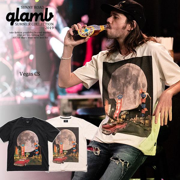 グラム glamb Vegas CS gb0219-cs05 レディース メンズ Tシャツ 送料無料