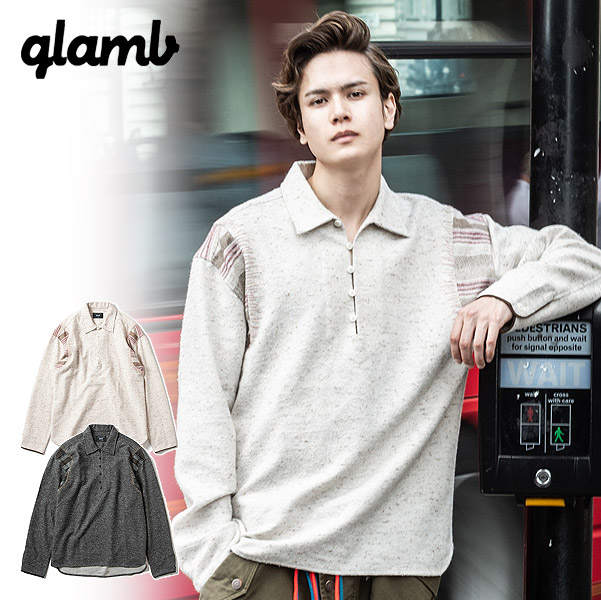 グラム glamb Ragni pullover SH gb0419-sh05 メンズ レディース シャツ 送料無料 ストリート