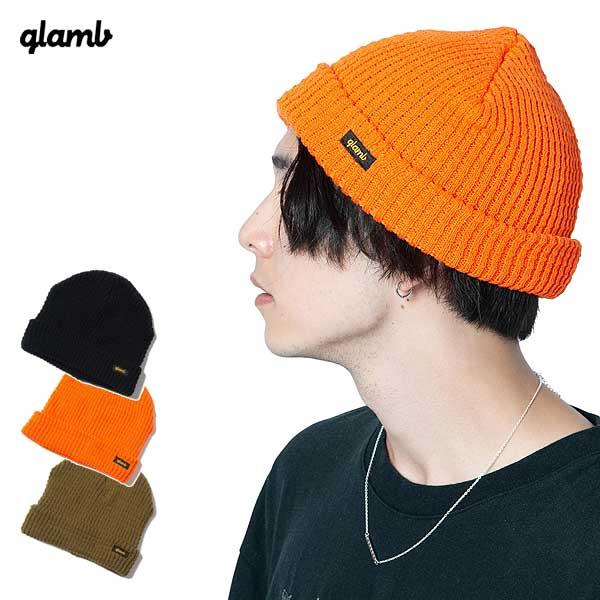 2020 春 先行予約 2月上旬~中旬入荷予定 グラム glamb Logo knit cap gb0120-cp06 レディース メンズ ニットキャップ キャンセル不可