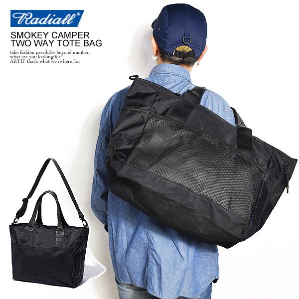 ラディアル RADIALL SMOKEY CAMPER TWO WAY TOTE BAG rad-xpc001 radiall メンズ レディース バッグ 鞄 トートバッグ ショルダーバッグ 2ウェイ 2WAY ナイロン 送料無料 ストリート 即日発送