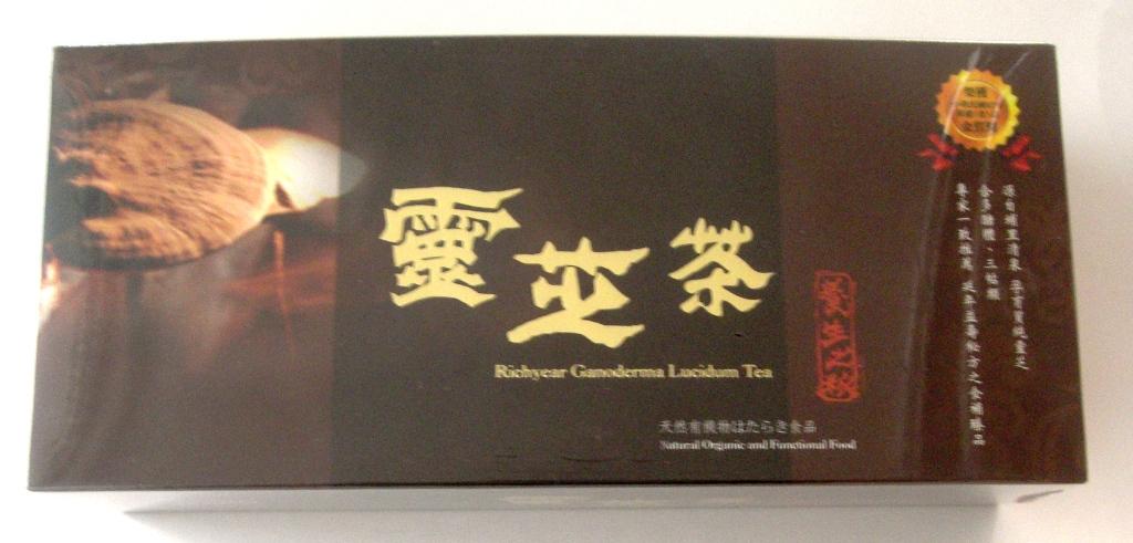 (お元気処)お茶 台湾霊芝茶30パック 送料無料  謝謝台湾最大義捐金  台湾産品 【霊芝茶】  伝統的飲料 品質管理万全の豊年農場製作の安全茶 3gr粉30袋一箱