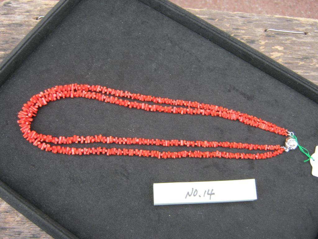 珊瑚 四国名産 珊瑚ノネックレス 土佐宿毛産天然宝石珊瑚  アクセサリー ネックレス 贈答品 【日成の宝石珊瑚ー14】真紅の宝石珊瑚ネックレス 世界に一つ自分だけのデザイン。  記念品、贈り物に最適 ケース入り。贈答包装無料 売り切れあり