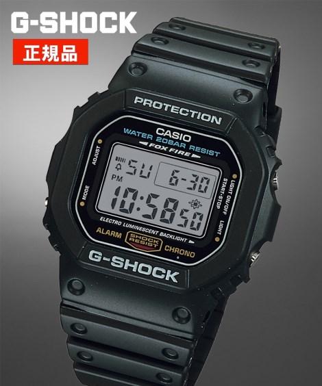 ニッセン アクセサリー・腕時計 CASIO G-SHOCK DW-5600E-1 nissen