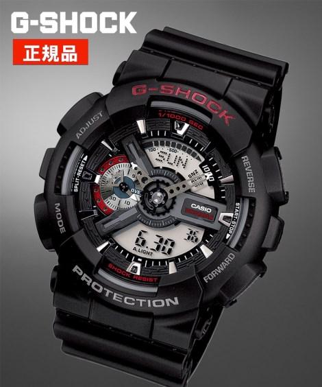 ニッセン アクセサリー・腕時計 CASIO G-SHOCK GA-110-1AJF nissen