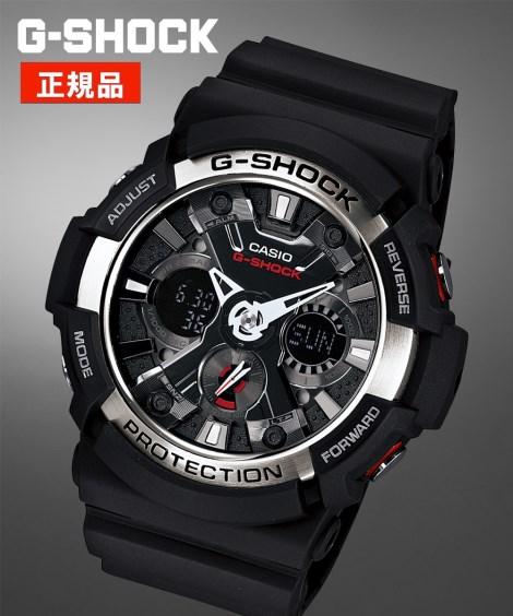 CASIO ウォッチ メンズ G-SHOCK GA-200-1AJF 腕時計 服飾 雑貨 アナログ ニッセン
