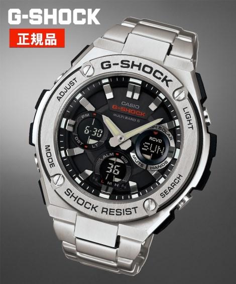 ニッセン アクセサリー・腕時計 CASIO G-SHOCK GST-W110D-1AJF nissen