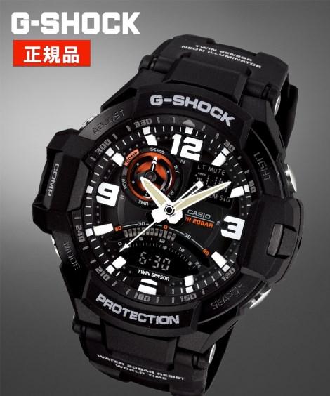 ニッセン アクセサリー・腕時計 CASIO G-SHOCK GA-1000-1AJF nissen