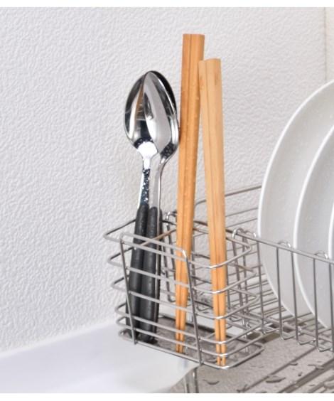 キッチン用品・調理器具 お皿が立てやすい伸縮水切り ニッセン nissen