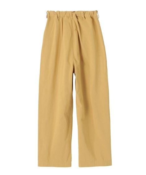 パンツ ワイド ガウチョ 大きいサイズ レディース 綿100% タックワイドカーキ ベージュ 102C~96C ニッセンeH9DbWIE2Y