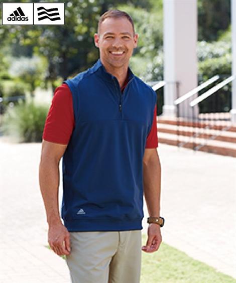 adidas スポーツウェア トップス カジュアル メンズ Adidas Men's ZIP CLUB VEST A271 BLACK HEATHER/DARK SLATE/VISTA GREY/ HTH 2XL/3XL ニッセン