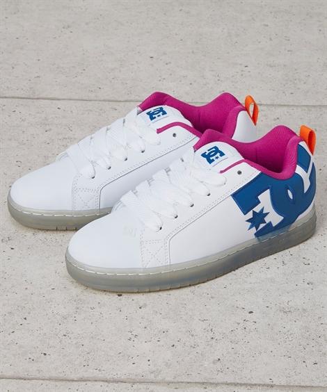 靴 メンズ 並行輸入 希少 海外モデル DC スニーカー CT GRAFFIK SESHOE WCY 300927 ホワイト 25~30cm ニッセン