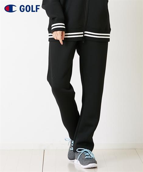 スポーツウェア ボトムス 大きいサイズ レディース チャンピオン ゴルフ WRAP-AIR パンツ 男女兼用 シルバーグレー/ブラック M/L/LL ニッセン