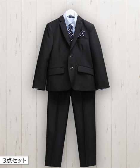 フォーマルスーツ(入学式・卒業式用) 【卒業】フォーマルスーツ3点セット(ジャケット+シャツ+パンツ)(男の子_子供服_ジュニア服)_ニッセン_nissen