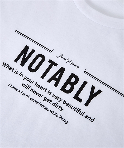 カーディガン|2点セット(セミロング長袖コーディガン+プリント半袖Tシャツ)_ニッセン_nissen
