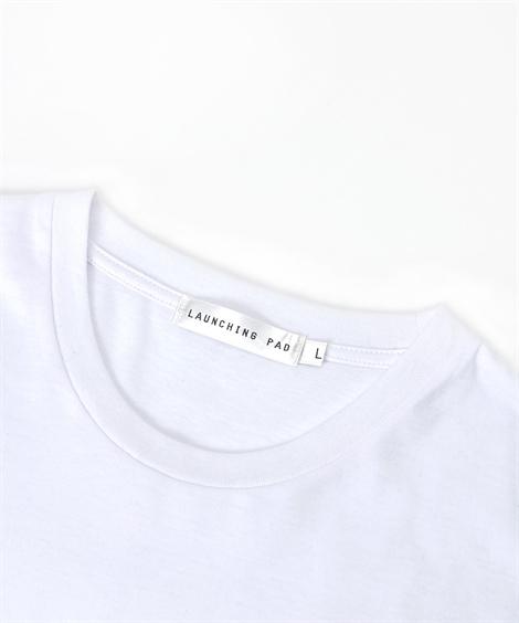 パーカー|2点セット(針抜き梨地フルジップ長袖パーカー+プリント半袖Tシャツ)_ニッセン_nissen