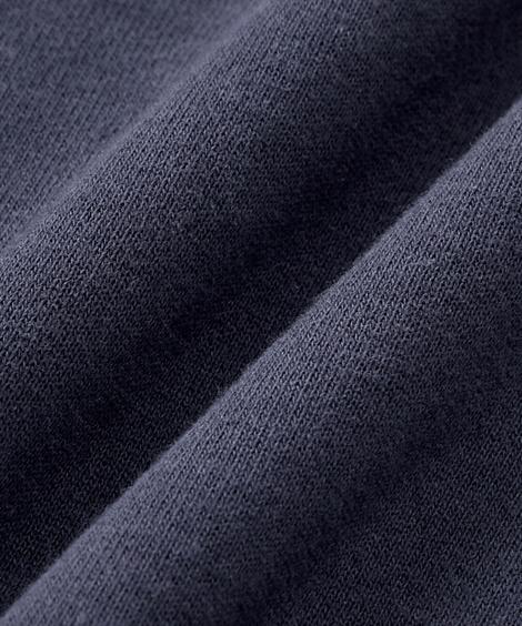 パジャマ・ルームウェア|綿100%裏毛ワンポイント長袖上下セット_ニッセン_nissen