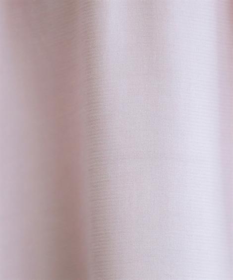 シャツ・ブラウス トールサイズ_7分袖ギャザーブラウス_ニッセン_nissen
