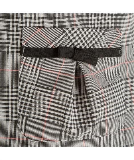 事務服・ベストスーツ|5-13号_事務服_ベストスーツ_3点セット_2スカート(プリーツ_フレア)52cm_ニッセン