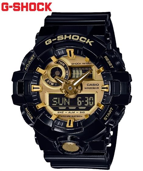 メンズ CASIO カシオ G-SHOCK GA-710GB-1AJF 激安通販専門店 ジーショック 時計 brand ギフ_包装 ニッセン 送料無料 ポイント倍付け中 腕時計