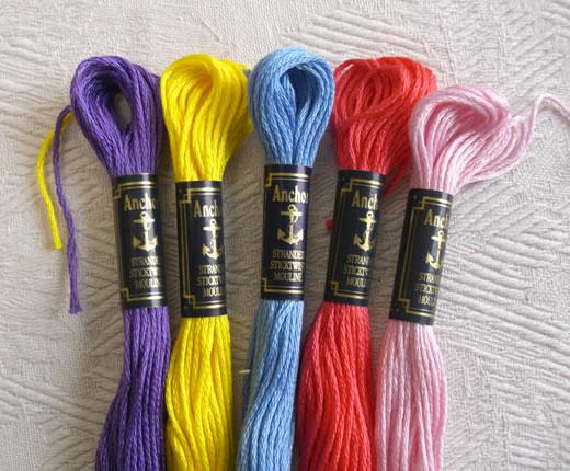 ドイツ アンカー刺繍糸 日本最大級の品揃え #25 ブルー系その2 100%品質保証