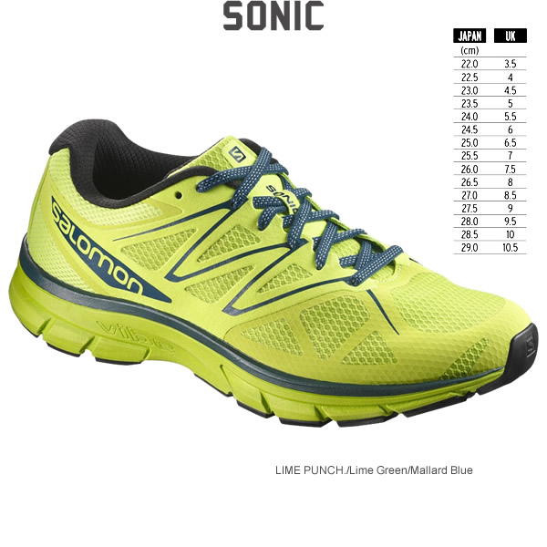 SALOMON Salomon running shoes SONIC sonic 2017 MODEL L39354900 L39355000 L39355100