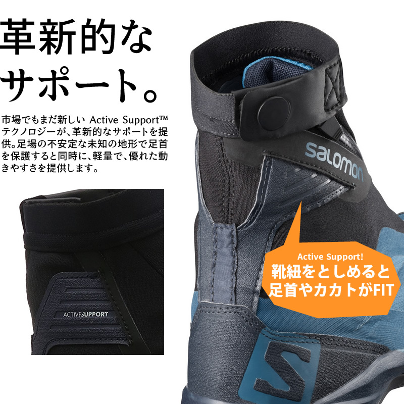 20% OFF 18 fall and winter Salomon out pass professional Gore Tex SALOMON OUTpath PRO GTX L39865300 blue hiking shoes gay ter; men's [WIN TR]