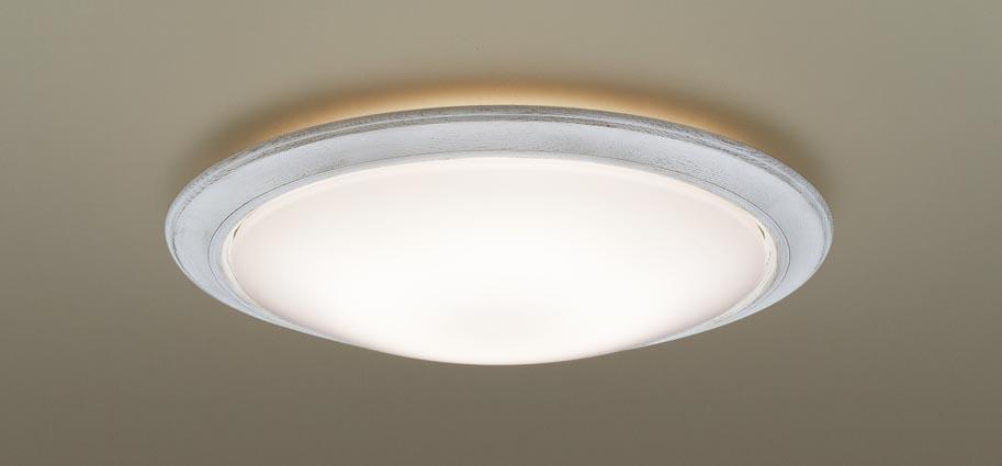 αパナソニック LEDシーリングライト LGBZ1508K (~8畳用)(調色)(カチットF・枠:シャビーホワイト)Panasonic