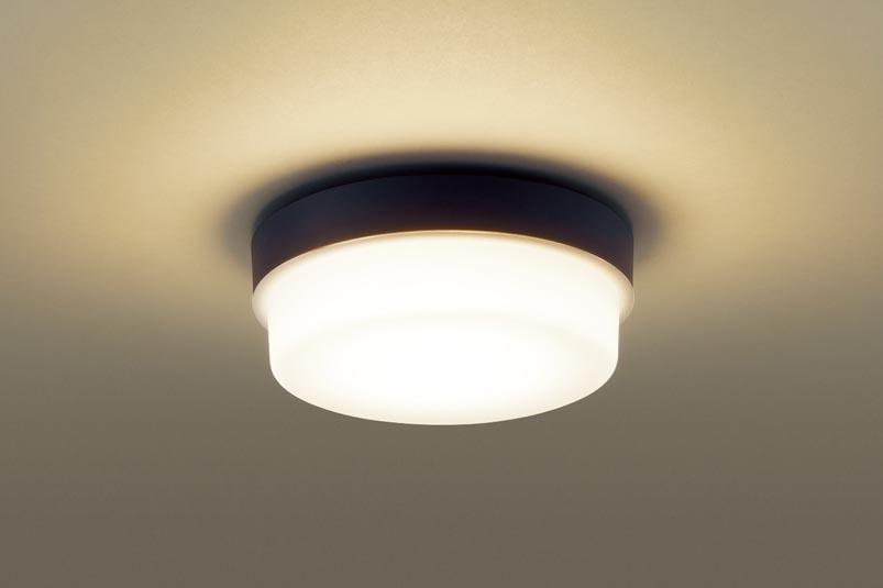 (防湿型・防雨型)LED小型シーリングライト LGW51787LE1 (電球色)(電気工事必要)パナソニック Panasonic