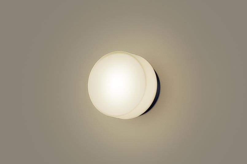 (防雨型)LEDポーチライト LGW85004BZ (電球色)(ブラック)(電気工事必要)パナソニック Panasonic